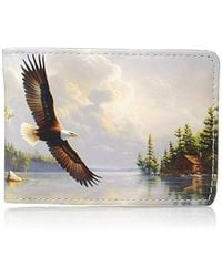 Buxton - Wildlife Watchful Pause Slimfold Wallet - Lyst