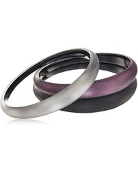 Alexis Bittar - Holiday Tapered 3 Stack Multi-bangle Bracelet - Lyst