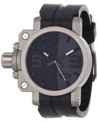 d8ce28f0d0b Lyst - Gucci Interlocking Grammy® Special Edition Watch in Black for Men