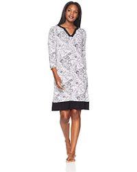 Arabella - Tunic Nightgown Loungewear Caftan - Lyst
