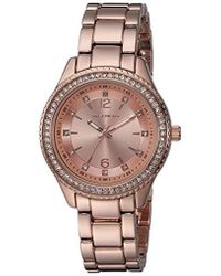 Skechers - Quartz Metal And Alloy Casual Watch, Color: Rose Gold-tone (model: Sr6123) - Lyst