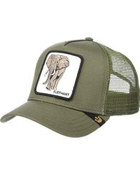 838cd8b4 Goorin Bros Animal Farm Snap Back Trucker Hat (olive Donkey) Caps ...
