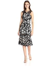Tracy Reese - Lace Combo Dress - Lyst