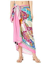 Trina Turk - Pareo Wrap Beach Cover Up - Lyst