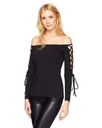 77de2ad3ac8 Lyst - Johnny Was Hailey Off The Shoulder in White