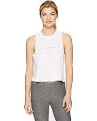 Alo Yoga - Flow Tank Graphic - Lyst