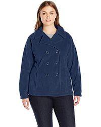 Columbia - Plus-size Benton Springs Pea Coat Plus - Lyst