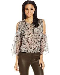 Twelfth Street Cynthia Vincent - Boho Printed Top - Lyst
