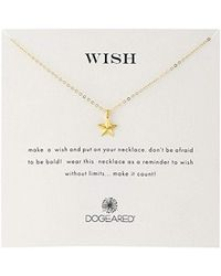 Dogeared - Wish' Nautical Star Charm Chain Necklace - Lyst