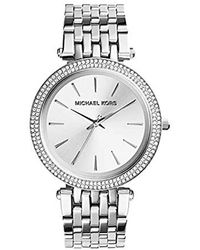 Michael Kors Silvertone Darci Watch