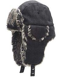 6bd78a2ce Polo Ralph Lauren Fairisle Trapper Hat in Blue for Men - Lyst