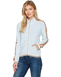 Stateside - Natural Heavy Jersey Track Jacket - Lyst