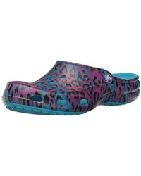 42fdb4a68141 Lyst - Crocs™ Classic Water Graphic Clog in Blue