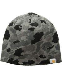 64c5e5eec49 Lyst - Carhartt Winterfield Hat in Blue for Men