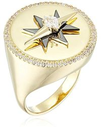 Noir Jewelry - Celestial Ring - Lyst