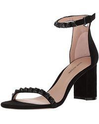4a8d3f670575 Lyst - Schutz Dubianna Lace Up Sandals - Pearl rosema