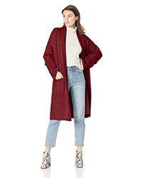 Michael Stars - Cozy Knits Shawl Collar Sweater Coat - Lyst 1c6d50017