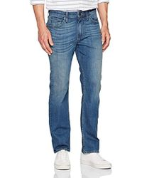 PAIGE - Doheny Straight Fit Jean In Cash - Lyst