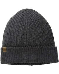 Lyst - Herschel Supply Co. Cardiff Cashmere   Wool Beanie in Black ... 04e1bd02d68c