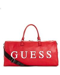 Guess - 22 Duffel Red - Lyst