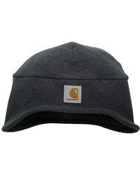 172f922fb2e39e Carhartt Fleece 2 In 1 Hat in Black for Men - Save 6% - Lyst