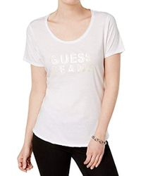 Guess - Short Sleeve Jeans Easy T-shirt - Lyst
