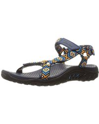 5c96df2bcfc2 Lyst - Teva Original Thong Platform Sandal in Blue