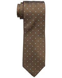 """Dockers - Big-tall Extra Long Fulton Street Dot 100% Silk Tie (xl 63"""") - Lyst"""