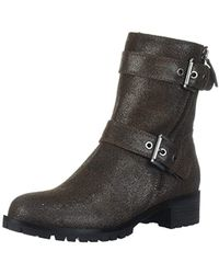 2626a44a6fd Lyst - Steve Madden Pursue Motorcycle Boot