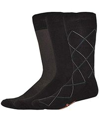 Dockers - 3 Pack Cushion Dress - Ultimate Fit Bias Necktie Crew Socks - Lyst