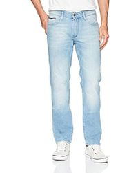 a1d99b5d Lyst - Tommy Hilfiger Original Ryan Straight Leg Jeans in Blue for ...