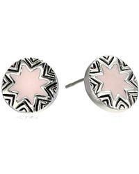 House of Harlow 1960 - Engraved Sun-burst Stud Earrings - Lyst