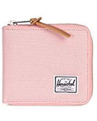 Herschel Supply Co. - Unisex-adults Wlat Rfid Blocking Full Zip Wallet, Peach, One Size - Lyst