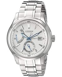 f16ebe2489b Citizen - Nb3010-52a Signature Grand Classic Analog Display Japanese Automatic  Silver Watch - Lyst