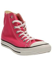 Converse - Chuck Taylor All Star Seasonal Canvas High Top Sneaker - Lyst