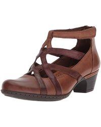 dffbadab6e9d Lyst - Steve Madden Adrina Studded Platform Sandal in Brown