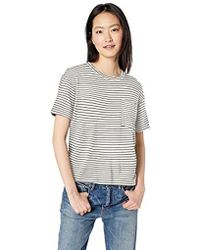 f3976d47de1 Daily Ritual - Supersoft Terry Short-sleeve Boxy Pocket Tee - Lyst