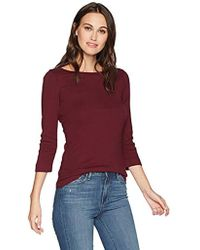 Three Dots - Heritage Knit British Tight Long Shirt - Lyst