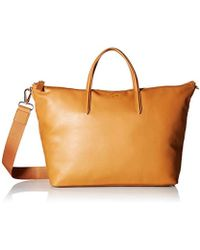 Lacoste - Strap Large Shopping Bag, Nf2587ir - Lyst