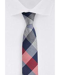 Tommy Hilfiger Rwb Buffalo Skinny Tie - Red
