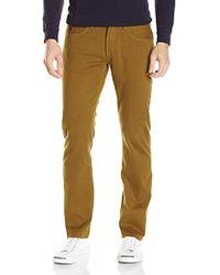 U.S. POLO ASSN. - Slim Straight 5 Pocket Stretch Twill Jean - Lyst