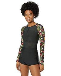 90a91710ce Hurley - Quick Dry One Piece Bathing Suit Wetsuit Swimsuit - Lyst