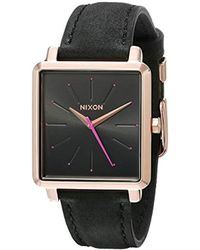 Nixon - A4722239 K Squared Analog Display Japanese Quartz Grey Watch - Lyst