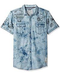 d916fa1e20 Lyst - Buffalo David Bitton Saflar in Blue for Men