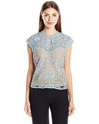 Plenty by Tracy Reese - Lace Combo Top - Lyst