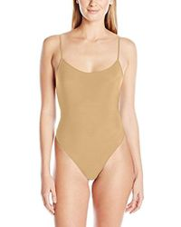 Only Hearts - Second Skins Low Back Thong Bodysuit - Lyst