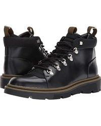 Calvin Klein - Rory Box Leather/balstc Nyl Boot - Lyst
