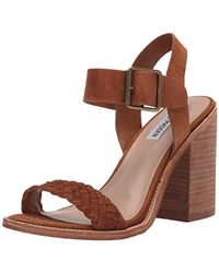 8ac9e49712e Lyst - Steve Madden Richelle Sandal in Brown