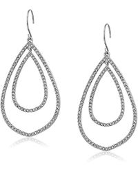 Vera Bradley - Whisper Links Double Drop Earrings - Lyst