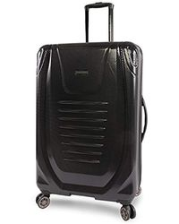 """Perry Ellis - Bauer 29"""" Hardside Checked Spinner Luggage - Lyst"""